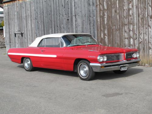pontiac catalina v8 cabrio 389cui rot 1963 0001 2