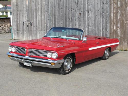 pontiac catalina v8 cabrio 389cui rot 1963 0002 3