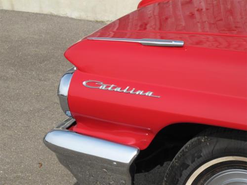pontiac catalina v8 cabrio 389cui rot 1963 0009 10