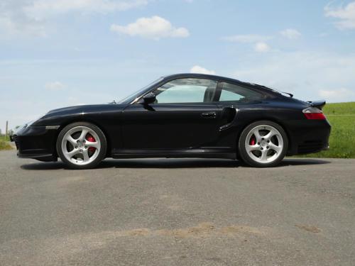 porsche 911 996 turbo automatic schwarz schwarz 2002 0000 1
