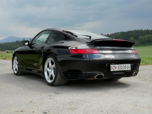 porsche 911 996 turbo automatic schwarz schwarz 2002 0004 5