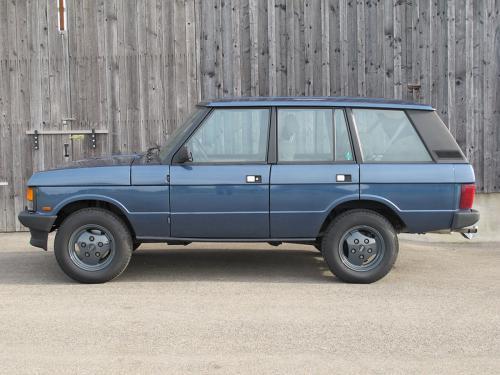 range rover classic 3.5 manual blau 1992 0000 1