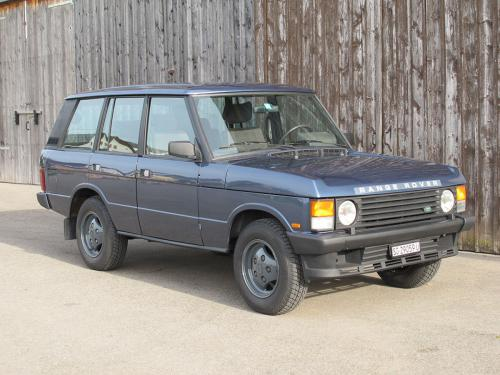 range rover classic 3.5 manual blau 1992 0001 2