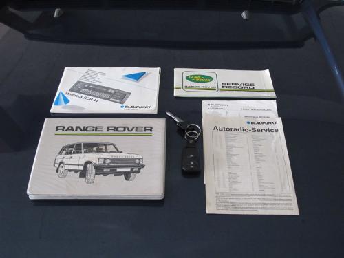 range rover classic 3.5 manual blau 1992 0010 11