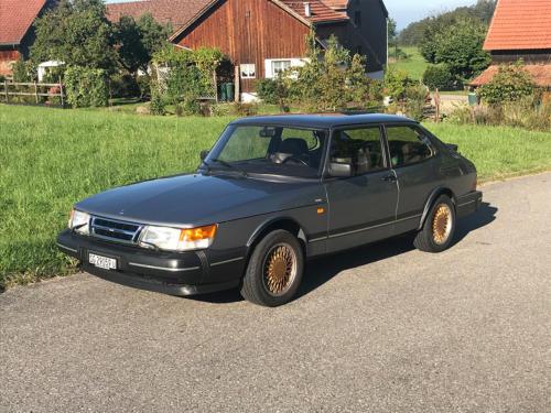saab 900 s turbo coupe grau 1992 0001 Ebene 14