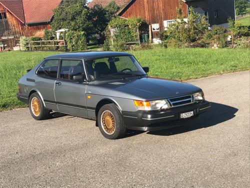 saab 900 s turbo coupe grau 1992 0002 Ebene 13