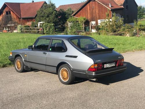 saab 900 s turbo coupe grau 1992 0003 Ebene 12