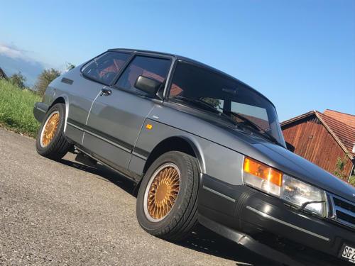 saab 900 s turbo coupe grau 1992 0006 Ebene 9