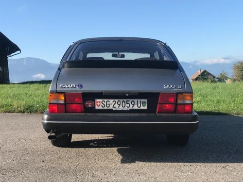 saab 900 s turbo coupe grau 1992 0007 Ebene 8