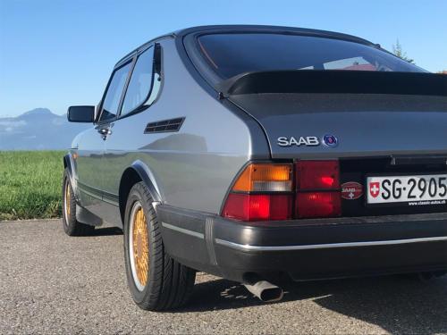 saab 900 s turbo coupe grau 1992 0008 Ebene 7