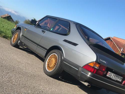 saab 900 s turbo coupe grau 1992 0009 Ebene 6
