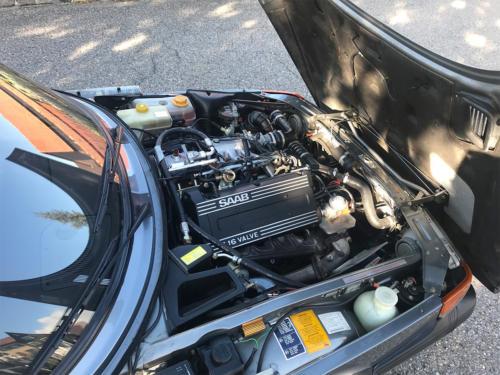saab 900 s turbo coupe grau 1992 0012 Ebene 3