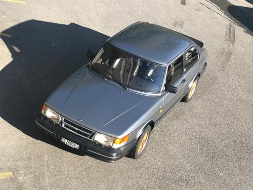 saab 900 s turbo coupe grau 1992 0014 Ebene 1