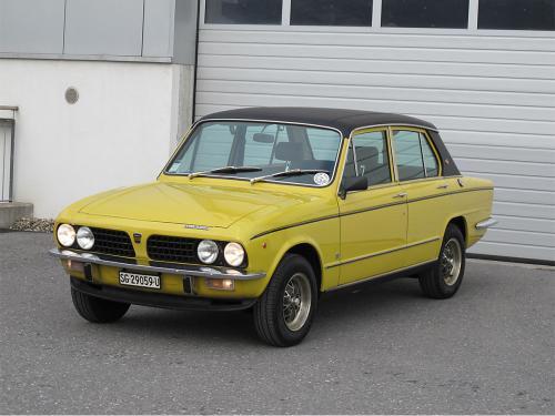 triumph dolomite sprint 16v gelb 1976 0001 2