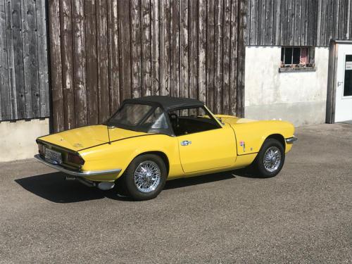 triumph spitfire cabriolet 1500 gelb 1975 Kopie 0005 6