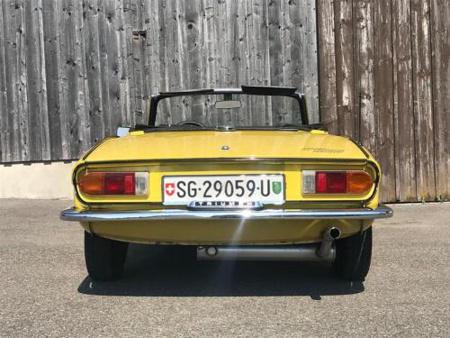 triumph spitfire cabriolet 1500 gelb 1975 Kopie 0008 9