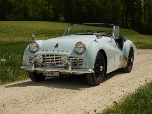 triumph tr3a powderblue 1958 0001 2