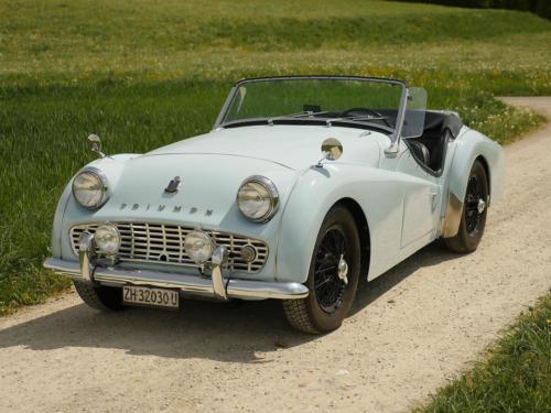 triumph tr3a powderblue 1958 0002 3