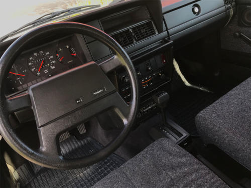 volvo 240 classic kombi dunkelblau automatic 1993 0012 Ebene 3