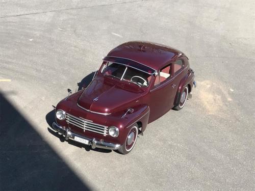 volvo pv444 buckel kuckuck dunkelrot 1952 0015 Ebene 0
