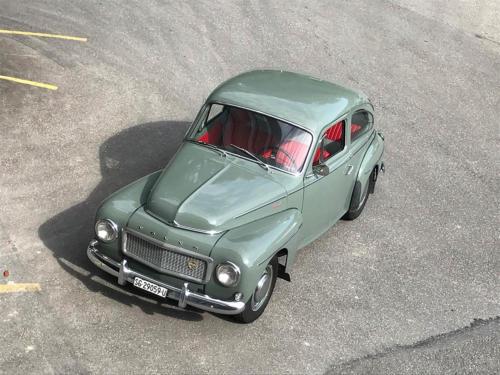 volvo pv544 buggeli sport graugruen 1960 0015 16