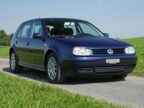 vw golf IV 1-8 T 180PS dunkelblau 2003 0002 3