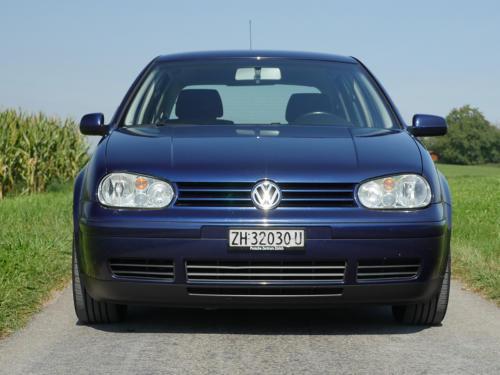 vw golf IV 1-8 T 180PS dunkelblau 2003 0003 4