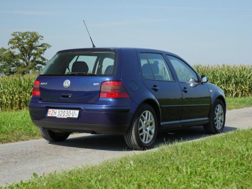 vw golf IV 1-8 T 180PS dunkelblau 2003 0006 7
