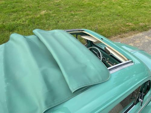 vw kaefer 1200 de luxe faltdach tuerkis 1962 0012 IMG 13