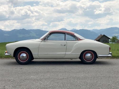 vw karmann ghia coupe weissrot 1961 0000 1