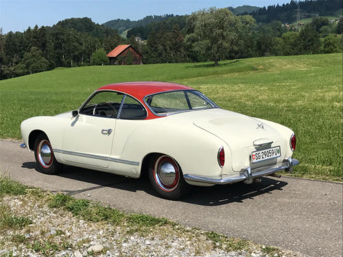 vw karmann ghia coupe weissrot 1961 0002 3