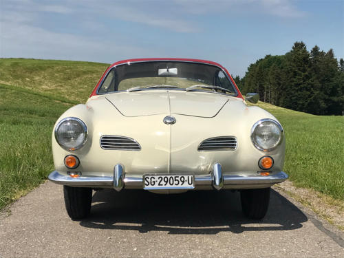 vw karmann ghia coupe weissrot 1961 0003 4