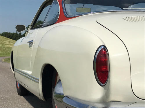 vw karmann ghia coupe weissrot 1961 0007 8