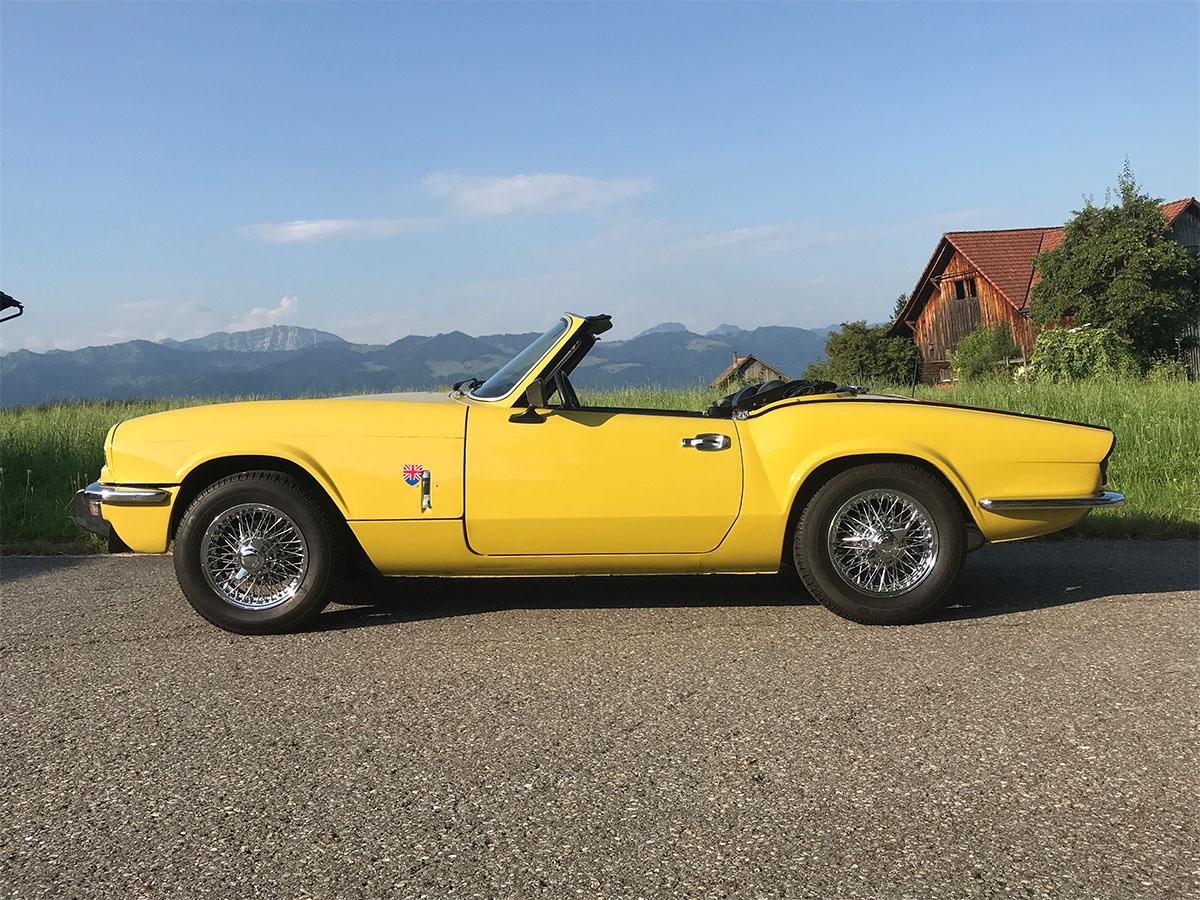 triumph spitfire cabriolet 1500 gelb 1975 Kopie 0000 1